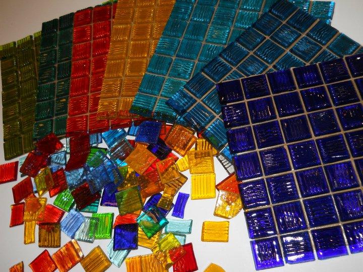 Cortavidrios centro del mosaico contemporaneo de liliana for Donde puedo comprar espejos